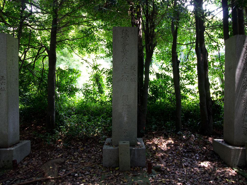 陸軍保形大佐正六位 関谷銘次郎之墓